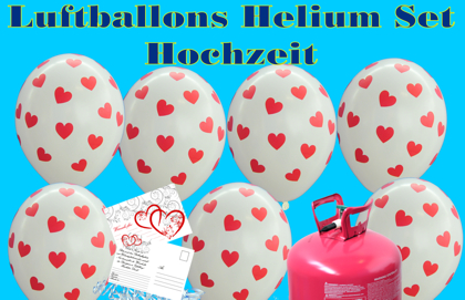 luftballons hochzeit helium sets helium sets mti luftballons zur hochzeit. Black Bedroom Furniture Sets. Home Design Ideas